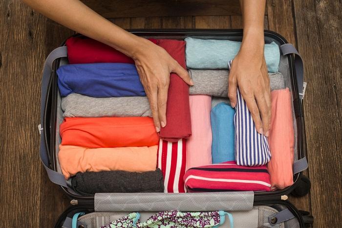 Cách xếp đồ khi đi du lịch
