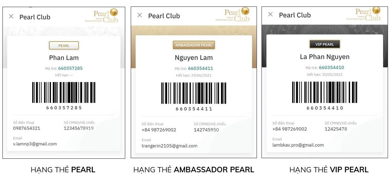 tạo tài khoản Pearl Club