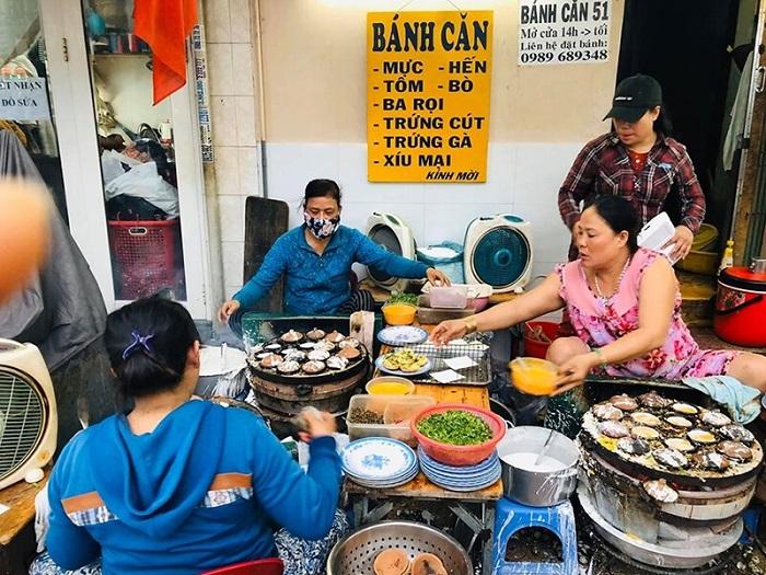 ăn sáng Nha Trang