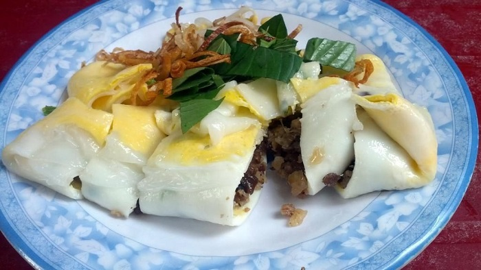 bánh cuốn trứng Lạng Sơn