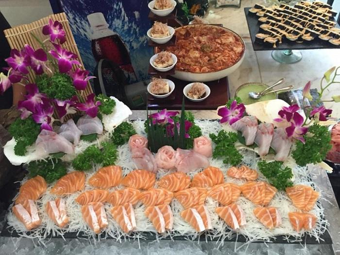 buffet hải sản Hải Phòng