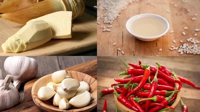Cách ngâm măng ớt Lạng Sơn