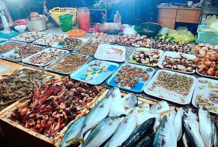 chợ hải sản Thanh Hóa