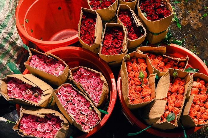 chợ hoa Sài Gòn