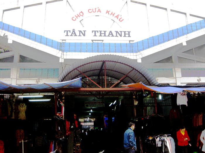 chợ Tân Thanh Lạng Sơn