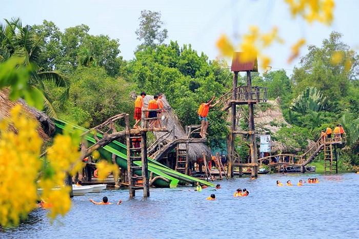 du lịch sinh thái gần Sài Gòn