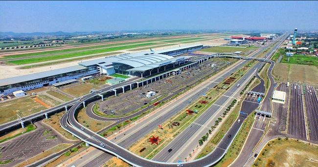 Gửi xe sân bay Nội Bài