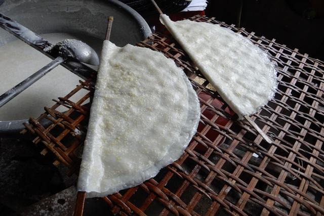 làng bánh tráng Túy Loan