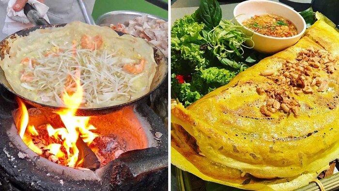 Món ngon Cần Thơ - bánh xèo củ hủ dừa (Nguồn: vietravel.com)