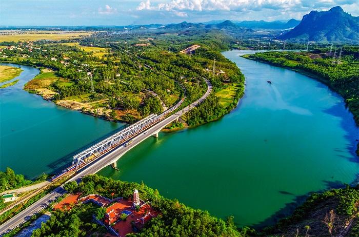 Sông Long Đại thác Tam Lu