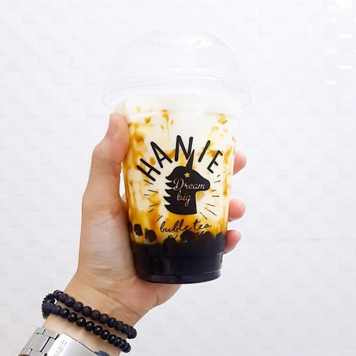 trà sữa Hạ Long