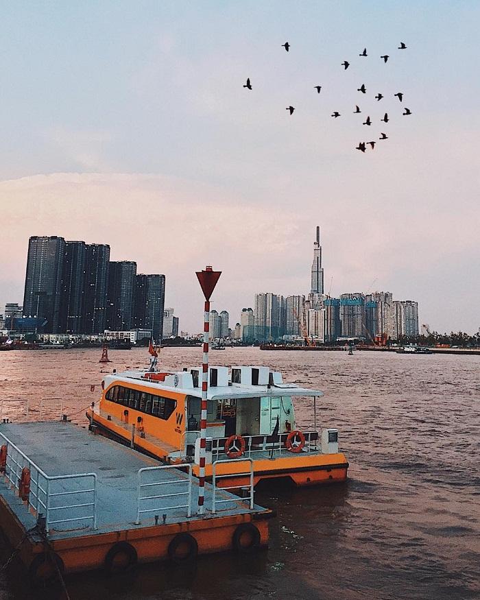 xe buýt sông Sài Gòn